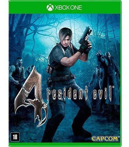 Jogo Resident Evil 4 Xbox One Mídia Física Lacrado