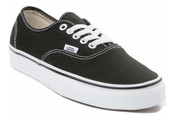 Zapatillas Vans Modelo Authentic Black Unisex