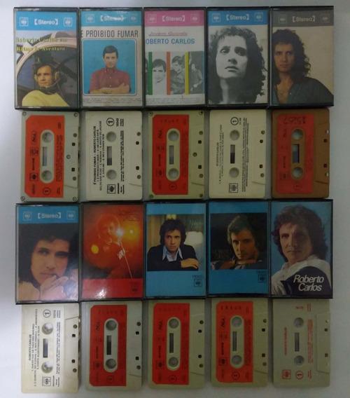 Coleção Roberto Carlos Lote 25 Fitas K7