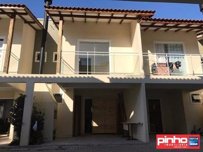 Casa Geminada 02 Dormitórios Para Venda, Bairro Universitário, Tijucas, Sc - Ca00135