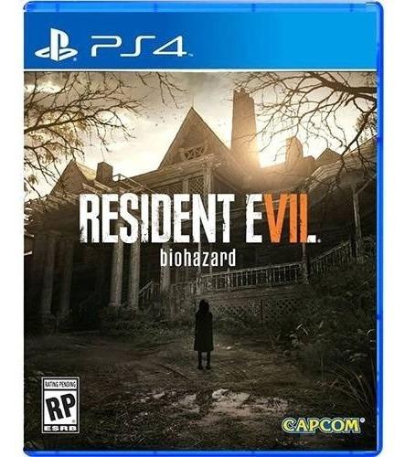 Ps4 Resident Evil 7 Mídia Física Novo Lacrado - Legendas Em Português