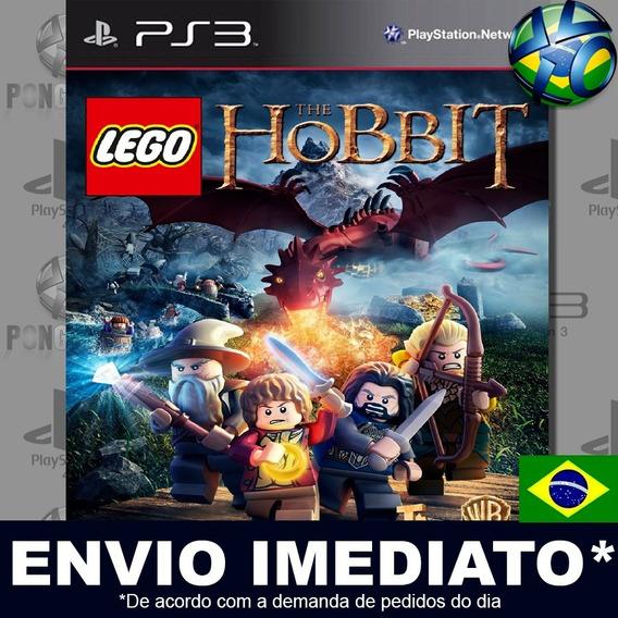 Lego The Hobbit Ps3 Psn Jogo Em Promoção Pronta Entrega