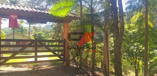 Imagem 1 de 14 de Chácara Com 2 Dormitórios À Venda, 6000 M² Por R$ 350.000,00 - Santa Terezinha - São Luiz Do Paraitinga/sp - Ch0031