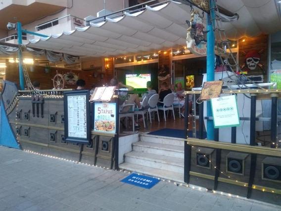 Traspaso Resto Bar En Mallorca, Frente Al Mar, Oportunidad