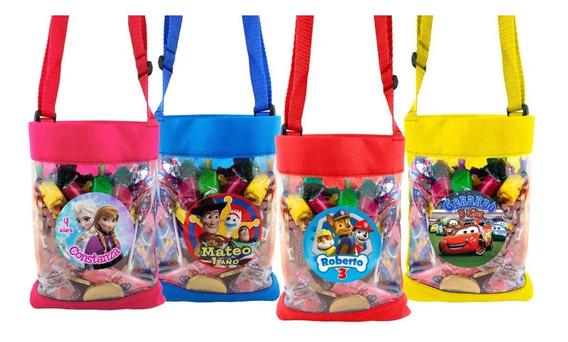 10 Bolos Dulceros Cristal Personalizados Colores ¡fiesta!
