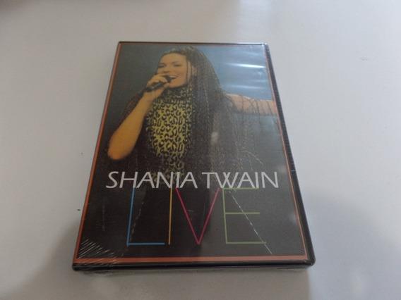 Dvd Shania Twain Live Novo Lacrado