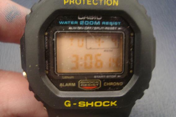 Casio G Shock Dw-5600 Vintage Anos 80 Raridade