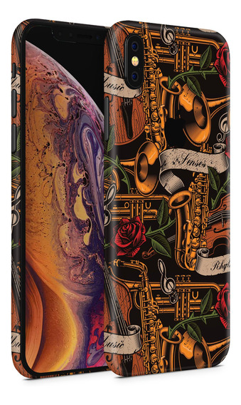 Skin Music Tattoo Para Telefonos Apple iPhone