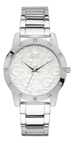 Reloj Para Dama G By Guess With Love G99122l1 Plata