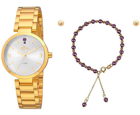 Relógio Allora Feminino Al2036fie/k4k