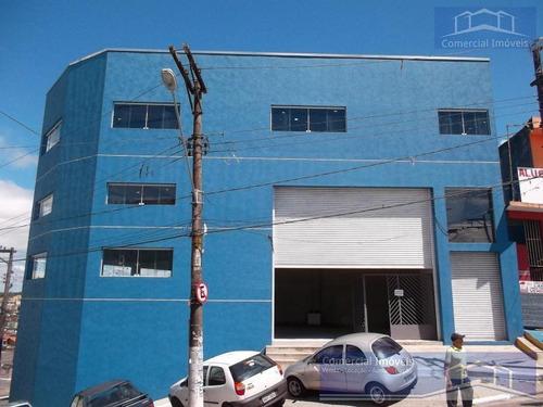 Prédio Para Locação Em Embu Das Artes, Santo Eduardo, 4 Banheiros, 12 Vagas - Pd007_2-1057398