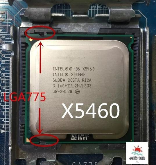 Processador Intel Xeon X5460 Lga775 + Pasta Brinde C/nota