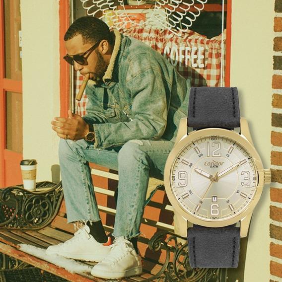 Relógio Masculino Condor Couro Co2115kvx/k2d