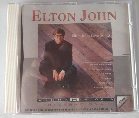 Cd Elton John - Love Songs
