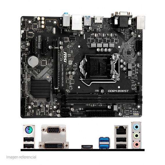 Motherboard Msi H310m Pro Vdh Plus Lga1151 H310 Ddr4 Sat