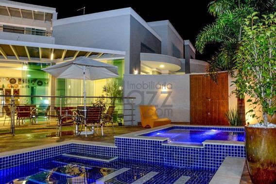 Exuberante Casa Térrea De Alto Padrão, Localizada Em Um Dos Condomínios Mais Nobres E Charmosos De Americana. - Ca4304