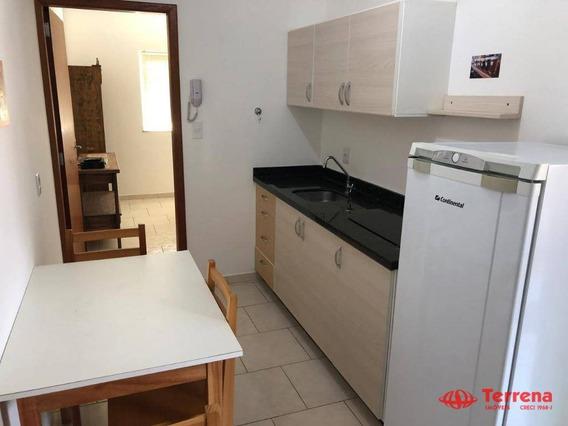 Kitnet Com 1 Dormitório Para Alugar, 40 M² Por R$ 800,00/mês - Centro - Blumenau/sc - Kn0010