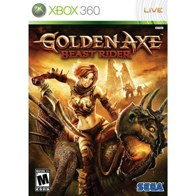 Golden Axe-beast Rider - Midia Fisica - Xbox 360 (game Tech)