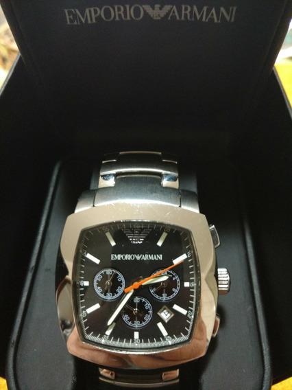 Relógio Empório Armani Original Novo Na Caixa 41x41mm