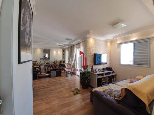 Apartamento Com 3 Dormitórios À Venda, 57 M² Por R$ 349.000,70 - Vila Roque - São Paulo/sp - Ap0926