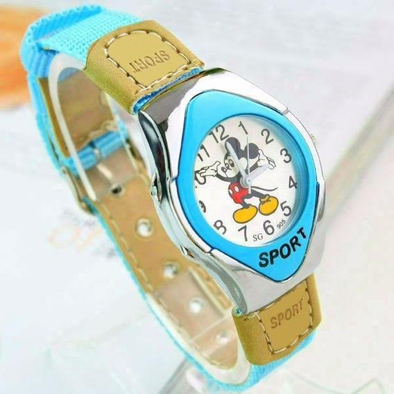 Relógio De Pulso Mickey Mouse Menino Criança Infantil 101