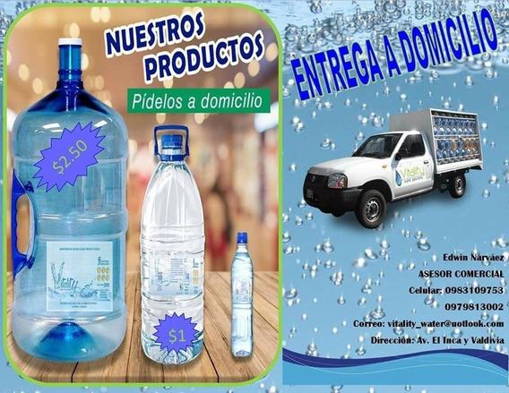 Botellones De Agua A Domicilio Valle De Los Chillos