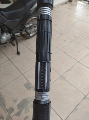 Imagem 1 de 5 de Sabre De Luz Duplo S.w. Personalizável Sem Lâmina Retrátil