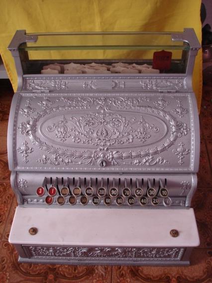 Maquina Registradora Antiga National, Troco Com Antiguidades