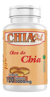 Oleo De Chia Oil 120cáps 1000mg - Melcoprol