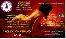 Masajes Tantra Sensoriales - Miraflores