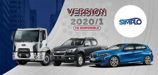 Simplo 2020.1 Inyección Diagramas Nafta/diesel Novedad 2020