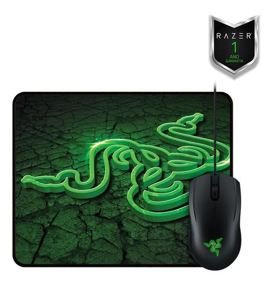 Combo Gamer Razer Abyssus 2000 Dpi + Goliathus Control Small