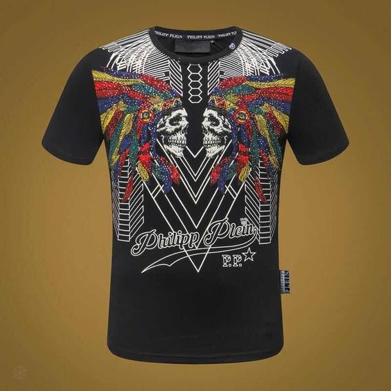 Philipp Plein Camiseta Lançamento Pronta Entrega