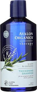 Avalon Organics Biotin B-complex Thickening Shampoo, 14 Onza