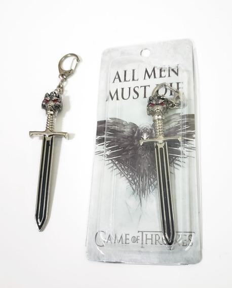 Llavero Espada Got Game Of Thrones Metálico