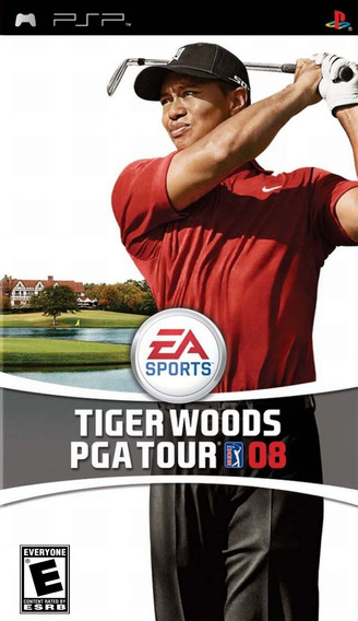 Jogo Tiger Woods Pga Tour 08 Playstation Psp Original Game