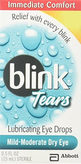 Blink Tears Eye Drops Tamaño 5z
