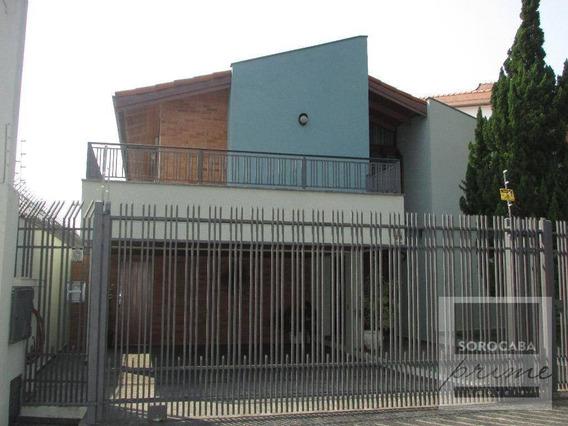 Sobrado Com 4 Dormitórios À Venda Por R$ 990.000,00 - Parque Campolim - Sorocaba/sp - So0072