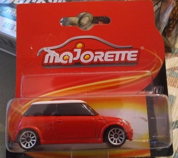 Majorette Mini Cord Rojo Carrito A Escala 1:64 Mini Cooper
