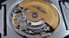 Reloj Mido Automático Ojo De Venado 17 Joyas Suizo Vintaje