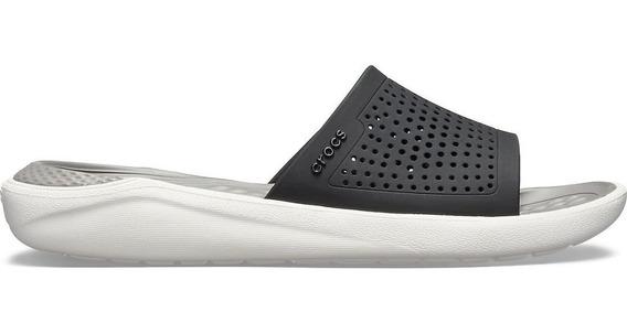 Crocs Originales Literide Slide C205183 Hombre Dama Asfl70