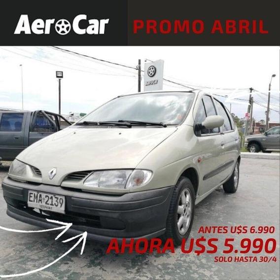 Renault Scénic 2.0 Usd3000 Mas Cuotas En Pesos(ui) Aerocar