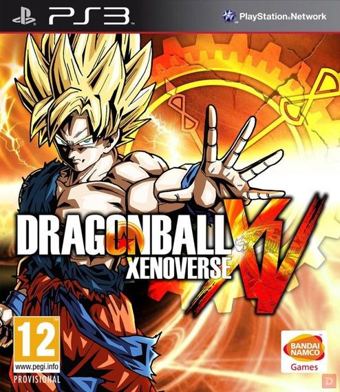 Dragon Ball Xenoverse Ps3 Psn Envio Rapido