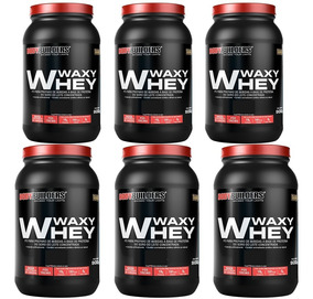 Combo 4x Whey Protein 900g + 2x Grátis (total 6 Unidades)
