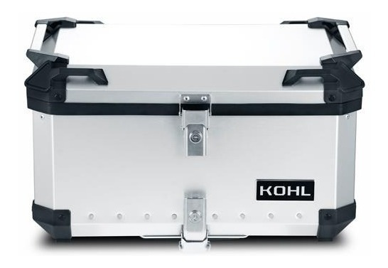 Baul Kohl Aluminio 50 Lts, + Base C/sujeta Bultos Rider One