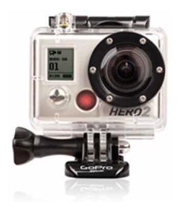 Gopro Câmera Hero 2 Com Case + Cartão Memória 32 Gb