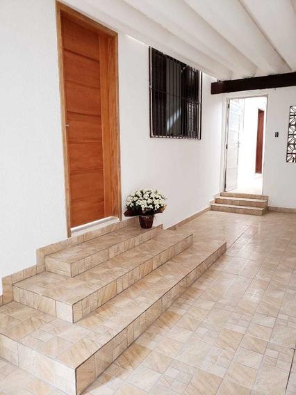 Casa Térrea Reformada, Pronta Para Sua Família Desfrutar !