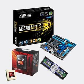 Kit Asus M5a78l-m + Plus Amd Fx 8320 + Mem Kingston Ddr3 4gb