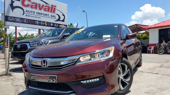 Honda Accord Rojo 2016