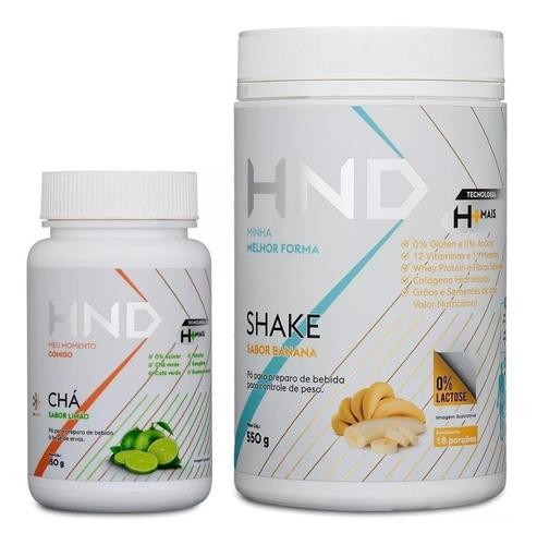 Kit Shake + Chá H+ Hinode Todos Sabores Promoção Original